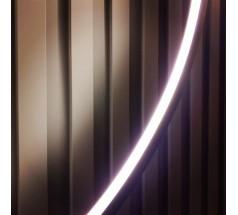 Kinkiet LED Ramko Echo 90 38W 3000K okrągła biała czarna złota