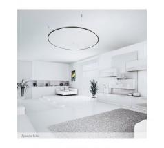 Lampa wisząca LED Ramko Echo 60 zewnętrzna 26W 3000K okrągła biała czarna