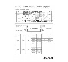 Zasilacz Osram, OT DMX RGBW DIM, 180W