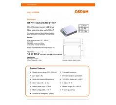 Zasilacz Osram OT FIT 15 500mA LT2 LP