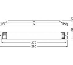 Zasilacz Osram, OT FIT 25/220…240/300 D LT2 L, 2…25 W