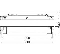 Zasilacz Osram, OT FIT 50/220…240/300 D L, 16.2…52.5 W
