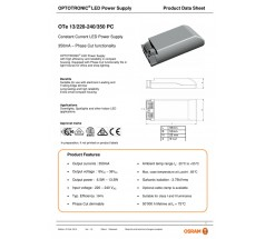 Zasilacz Osram OTe 13 350mA Phase Cut
