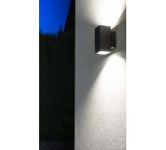 Kinkiet Su-ma Adela Midi 2xGU10 kwadratowy popielaty