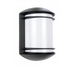 Ogrodowy Kinkiet na żarówkę Su-ma Telma E27 czarny