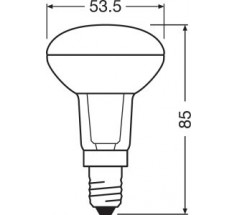 Żarówka LED LEDVANCE PARATHOM R50 E14 4,3W