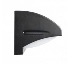Ogrodowy Kinkiet na żarówkę Su-ma Nelly 42cm E27 czarny srebrny