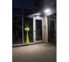 Ogrodowy Kinkiet Su-ma Eggo LED 4000K 9W srebrny