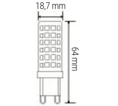 Żarówka LED PIN G9 OXYLED 830 840 różne moce