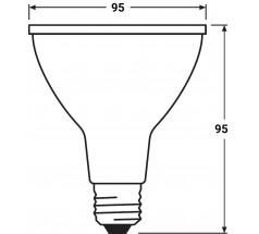 Żarówka LED PAR30 OXYLED 12W 3000K 45°