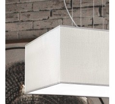 Lampa wisząca Ramko Calipso 4xE27 kwadratowa biała
