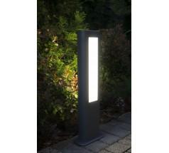 Ogrodowy Słupek Su-ma Evo 50 cm LED 4000K 12W prostokątny popielaty