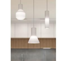 Lampa wisząca LED AqForm Modern glass barrel 230V 6W czarna