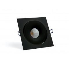 Oprawa podtynkowa LED OXYLED STILLO kwadratowa 8W 15W biała czarna