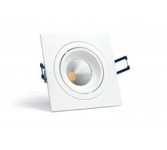 Oprawa podtynkowa LED OXYLED MODI kwadratowa 6W 10W biała czarna