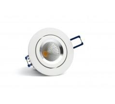 Oprawa podtynkowa LED OXYLED LARSI L okrągła 6W 10W biała czarna