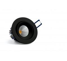 Oprawa podtynkowa LED OXYLED QUBO okrągła 6W 10W biała czarna