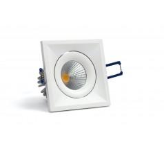 Oprawa podtynkowa LED OXYLED QUBO kwadratowa 6W 10W biała czarna