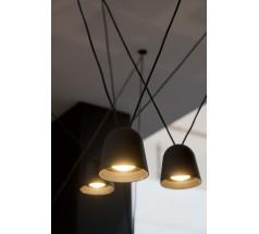 Lampa wisząca LED OXYLED TOCCA 30W CRI90 biała czarna