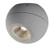 Lampa natynkowa LED Mistic Madball 9W 3000K TRIAC biała czarna