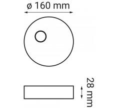 Oprawa LED OXYLED ARDIZONE zestaw 1