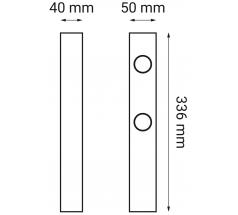 Oprawa LED OXYLED ARDIZONE zestaw 3