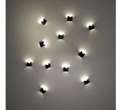 Kinkiet LED Shilo AGI G9 1x8W biały czarny