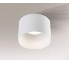 Lampa natynkowa Shilo KONAN GX53 1x10W tuba biała czarna