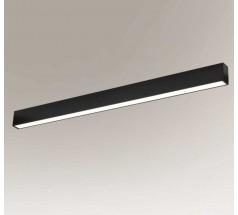 Oprawa liniowa Shilo NUMATA 16W 3000K 4000K prostokątna biała czarna