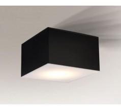 Lampa natynkowa Shilo ZAMA LED 1x15W 3000K 4000K kwadrat biała czarna