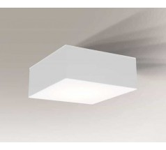 Lampa natynkowa Shilo ZAMA LED 1x15W 3000K 4000K IP44 biała czarna