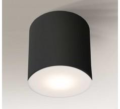Lampa natynkowa Shilo ZAMA LED 1x15W 3000K 4000K tuba biała czarna
