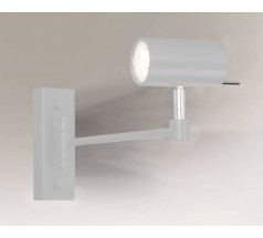 Reflektor Shilo FUSSA GU10 1x8W tuba biały czarny