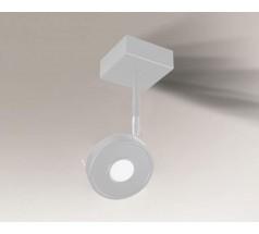 Reflektor Shilo FUSSA IL 1x10W 3000K 4000K okrągły biały czarny