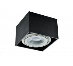 Oprawa natynkowa na żarówkę GU10 ES111 Kupujledy ANZIO kwadratowa biała czarna srebrna