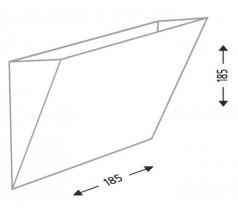 Kinkiet na żarówkę Shilo Kioto G9 1x8W biały czarny