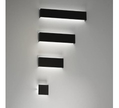 Kinkiet na żarówkę Shilo Kitami G9 1x8W kwadrat biały czarny