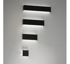 Kinkiet na żarówkę Shilo Kitami G9 3x8W prostokątny biały czarny