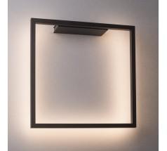 Kinkiet LED Ramko Akira 15W 3000K kwadratowa biała czarna złota