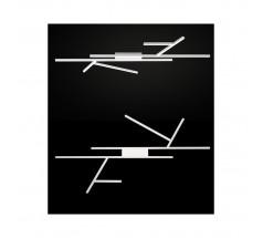 Plafoniera LED Ramko Albero 40W 3000K biała czarna złota