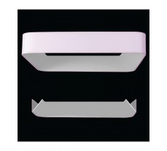 Lampa wisząca LED Ramko Bonbon 60 60W 3000K kwadratowa biała